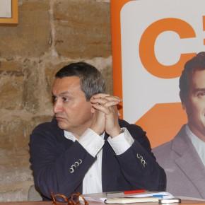"""Joaquín Galindo: """"Tenemos una gran preocupación por el futuro hospital de Alcañiz"""""""