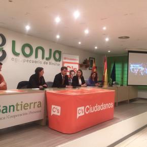 El primer Grupo Local de Ciudadanos Aragón se constituye en Binéfar