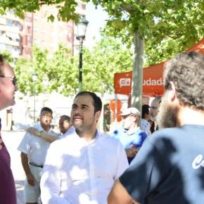 Ciudadanos se compromete a llevar la cesión de la avenida Cataluña la próxima legislatura