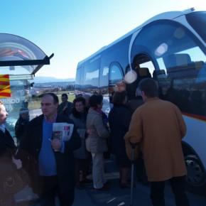 El Grupo Local de C's Binéfar propone mejoras para el autobús 'Voy y Vengo'