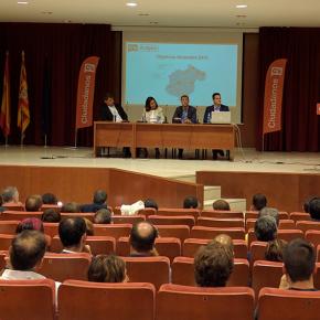 """Ciudadanos presenta su plan de expansión y comunicación en el """"Foro Ciudadano"""" celebrado en Teruel"""