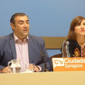 Ciudadanos Zaragoza pide rebajar los coeficientes del IAE para minimizar la subida de ZeC