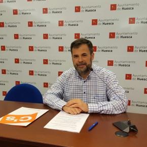 Cs exige recursos e inversión para la mejora y el mantenimiento del servicio ferroviario de Huesca capital