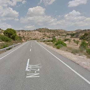 """Ciudadanos solicita al Gobierno """"medidas urgentes"""" en la N-211 para evitar los accidentes de tráfico entre Caspe y Mequinenza"""