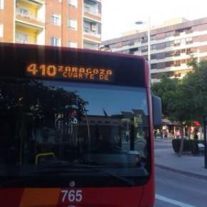 Cs solicita que se instalen más marquesinas en las paradas de autobús de Cuarte de Huerva