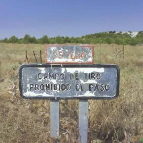 Cs solicita ayudas para los municipios aragoneses afectados por los campos de tiro o maniobras