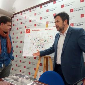 Cs Huesca se muestra satisfecho por el inicio del plan de asfaltado en la capital oscense