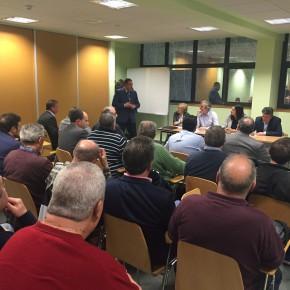 Ciudadanos pide al Ayuntamiento tender puentes para llegar a acuerdos en la gestión de los campos de fútbol