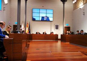 Cs reclama que los ciudadanos puedan participar en los plenos de la DPZ con ruegos y preguntas