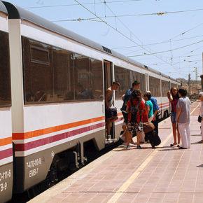 """Ciudadanos pide la mejora de la vía ferroviaria Zaragoza-Caspe-Barcelona ante su """"pésimo estado de conservación"""""""