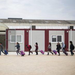 Cs Zaragoza pide al Gobierno de Aragón el fin de los barracones escolares
