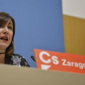 Cs lamenta que ZeC intente arrastrar a la ciudad fuera de la Constitución dando apoyo y ánimo a todos los separatistas de España
