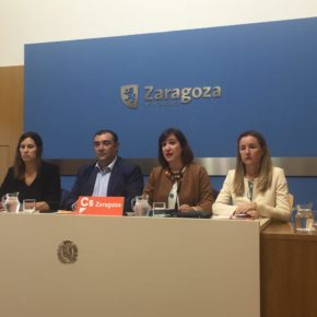 Cs no entra en el Pleno para defender a los trabajadores de Zaragoza Arroba Desarrollo Expo