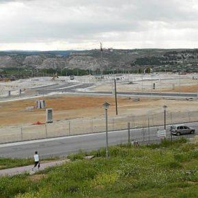 Cs Teruel pide finalizar las obras de urbanización del Polígono Sur paralizadas desde 2014