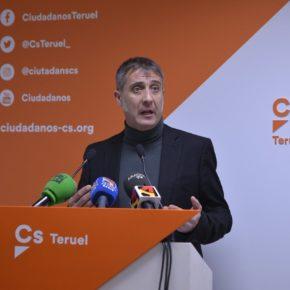 """Ramiro Domínguez: """"Ciudadanos estará implantado en toda la provincia de Teruel en menos de dos meses"""""""