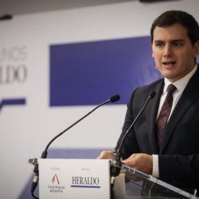 """Albert Rivera: """"España necesita una nueva etapa de reformas liberales y europeístas para no caer en populismos ni nacionalismos"""""""