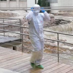 """Sara Fernández: """"ZeC debe explicar por qué los trabajadores del Teatro Romano usan trajes de protección"""""""