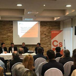 Ciudadanos Aragón acerca a Barbastro sus propuestas para combatir la despoblación
