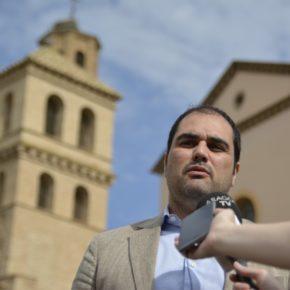Ciudadanos urge al Gobierno a realizar la excavación y musealización de la antigua iglesia de Villanueva de Gállego para que el dinero no se pierda