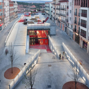 """Ciudadanos propone convertir el edificio de Domingo Gascón """"en un espacio útil para el disfrute de los turolenses"""""""