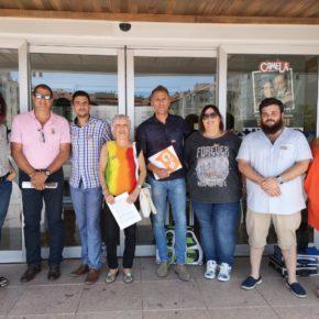 Ciudadanos Utebo apoya la diversidad sexual con un acto en el municipio