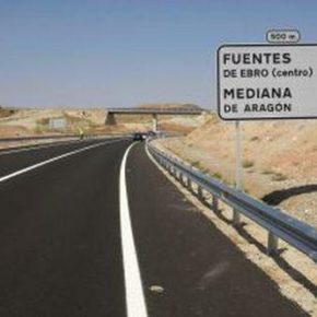 """Ciudadanos exige al Gobierno """"plazos concretos"""" para el inicio de las obras de la A-68 Fuentes de Ebro-Valdealgorfa"""