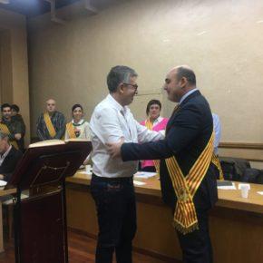 Francisco Lahoz toma posesión como concejal de Ciudadanos en Alcañiz