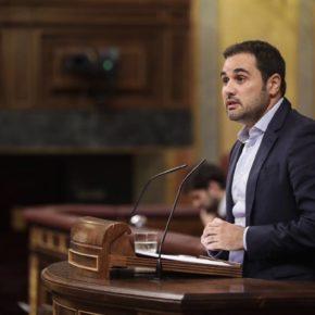"""Gómez: """"Los PGE perjudican de forma grave a Aragón porque desaparecen inversiones clave para la comunidad"""""""