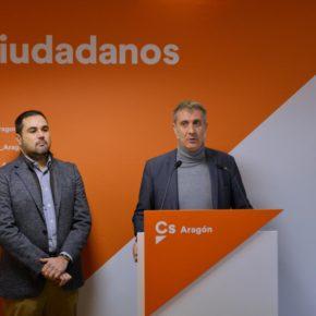 Cs critica la falta de efectivos de Policía Nacional y Guardia Civil en Aragón y los recortes en materia de seguridad en los PGE