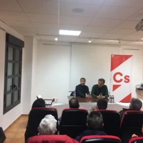 """Ciudadanos presenta su nueva agrupación en Montalbán para acercar su proyecto """"basado en la política útil"""" a los vecinos de la localidad"""