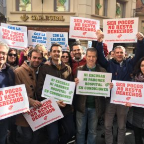 """Ramón Fuertes: """"Los turolenses han salido hoy a la calle para decirle al Gobierno de Aragón que deje de tratarles como ciudadanos de segunda"""""""