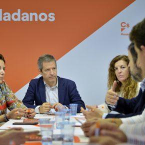 """Daniel Pérez: """"Si a Ciudadanos le va bien a nivel nacional, Huesca va a salir ganando"""""""