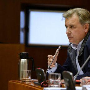 """Moreno: """"La autovía A-68 en el Bajo Aragón es primordial para atajar la siniestralidad en la N-232"""""""