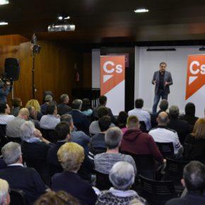 """Joaquín Moreno: """"Ciudadanos apuesta por Alcañiz como referente mundial en investigación, innovación y desarrollo en el mundo del motor"""""""