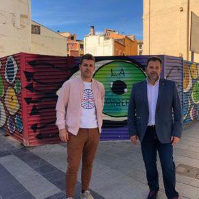 """José Luis Cadena: """"Cs se compromete a trabajar sobre solares y locales abandonados para recuperar la imagen de Huesca"""""""