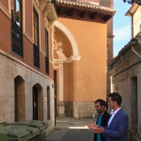"""Ramón Fuertes: """"Ciudadanos va a hacer de Teruel una ciudad líder en limpieza, no en suciedad como hasta ahora"""""""