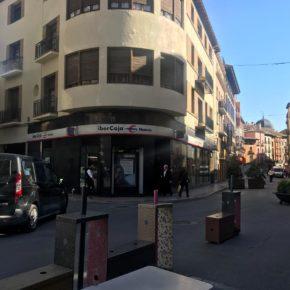 Cs solicita al Ayuntamiento de Huesca invertir el superávit de 2018 en finalizar las obras del Coso Bajo