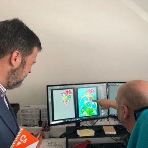 José Luis Cadena destaca el potencial del sector del software y los videojuegos como una oportunidad de futuro para Huesca