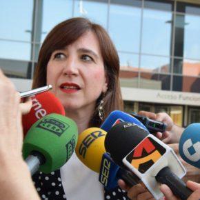 """Sara Fernández """"Diseñaremos un plan para ampliar los horarios de apertura de las instalaciones deportivas de los centros escolares"""""""