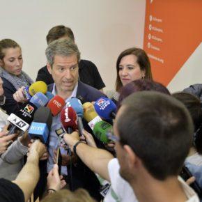 """Daniel Pérez: """"Ciudadanos está legitimado para aspirar a absolutamente todo en Aragón"""""""