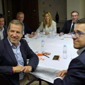 """Ciudadanos tiende la mano a cualquier partido """"centrado, moderado y liberal"""" para sumarse a un proyecto """"aragonés, español y europeísta"""" para gobernar Aragón"""