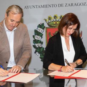 """Fernández: """"Cs y PP hemos alcanzado un acuerdo para el cambio en Zaragoza"""""""