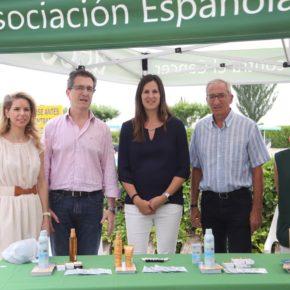 Cristina García ha participado esta mañana en la presentación de la campaña de educación sanitaria 'Sol sin riesgo'