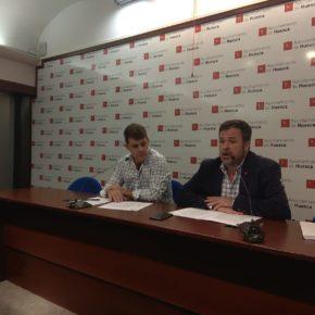 """Cadena: """"Huesca puede tener impuestos justos y servicios adecuados, la pelota está en el tejado del equipo de gobierno"""""""