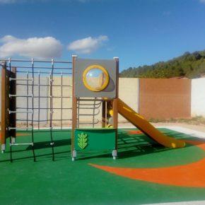 El Ayuntamiento de Jaraba instala un parque infantil con una inversión de 12.400 euros