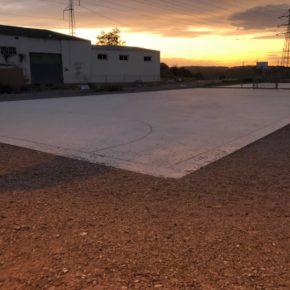 Cs propone instalar bancos, arbolado e iluminación en las pistas polideportivas de Fuentes de Ebro