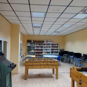 El Ayuntamiento de Jaraba abrió este viernes el centro de juventud en el pabellón municipal