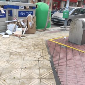 Cs pide ampliar las partidas para limpieza y mantenimiento de parques infantiles en La Almunia de Doña Godina