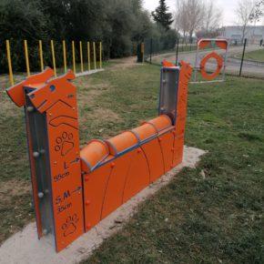 Cs promueve la instalación de un circuito de agility para mascotas en La Puebla de Alfindén