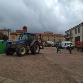 El Ayuntamiento de Used realiza una limpieza extraordinaria de las calles del municipio